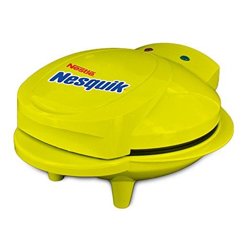 Smart Planet MCM-1NQ Nestle Nesquik Cupcake and Brownie Bite Maker, Yellow