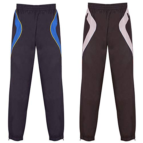 Sports Opt À Cuffed Pantalon Éclair 2 Jogging Survêtement C Pack Poches Homme Fermeture Jog rio Pour Gazelle Joggeurs Ourlet dxPagnd