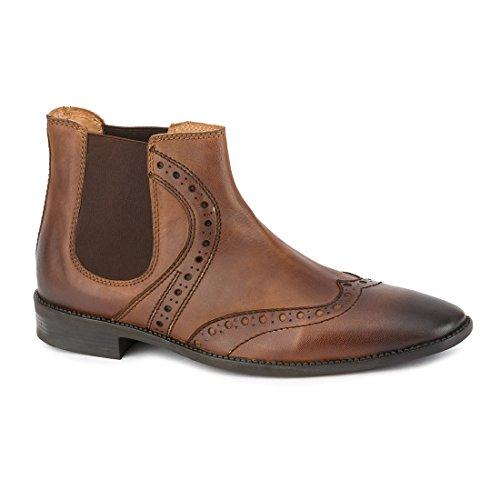 Hommes Gekko Chaussures Richelieu À Lacets Marron Marron 44