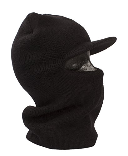 Full Face One Hole Ski Mask with Visor