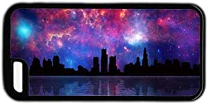 Galaxy Space New York City Sky Line Theme for iphone 5/5S Case