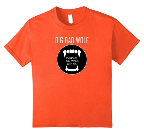 Kids Big Bad Wolf Dating Popular Halloween Costume Idea 10 Orange
