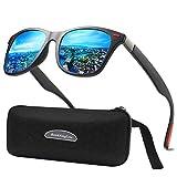 Polarized Sunglasses for Men Women/Retro Style Vintage Round Key Shape Nose/Outdoor sports beach