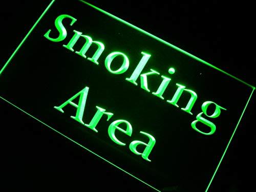 ADVPRO Smoking Area Zone LED看板 ネオンプレート サイン 標識 Purple 600 x 400mm st4s64-m098-p B07GNS5BVD 24