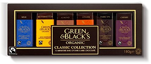 Green & Black's - The Classic Collection - 180g (Case of 12)