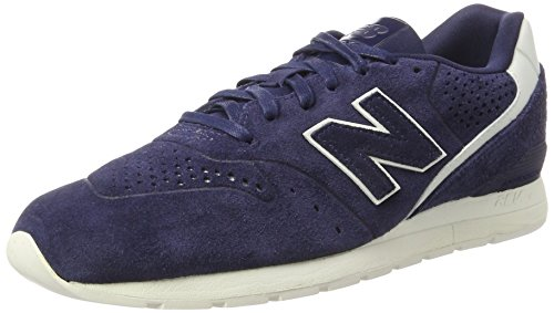 Sneakers da Blu blu uomo Balance 996 Leather scuro New HwtI7q