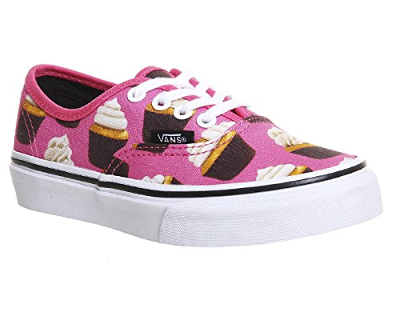 Vans Unisex Children Authentic Sneakers pink Size: 1