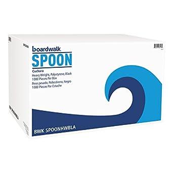 Amazon.com: Boardwalk SPOONHWBLA Heavyweight Polystyrene ...