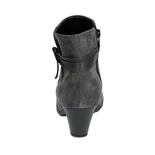 Gabor Tiffey Womens Modern Ankle Boots Dark Grey UFvEC