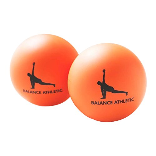 Massage Balls : Premium Quality Myofascial Release Balls with Instruction Book and Carry Bag