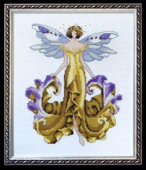 Iris Cross Stitch Pattern - 2