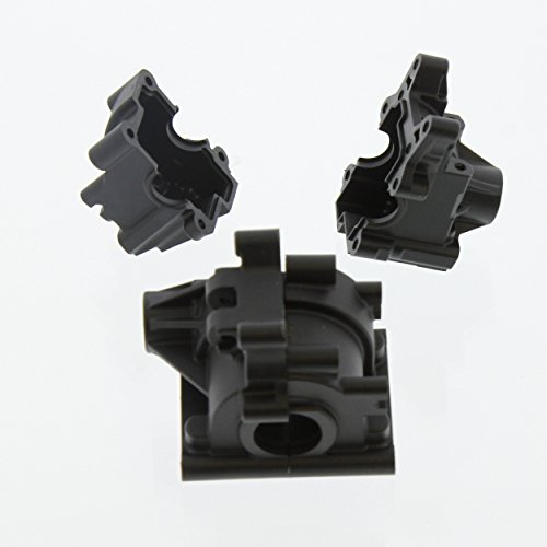 Team Losi 8IGHT-T 4.0 Truggy 1/8: Front & Rear Differential Gear Box, Composite (Team Losi 8ight Rear)