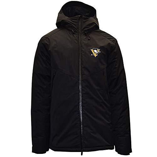 Large Black Levelwear LEY9R Adult Women Motion Insignia Full Zip Hooded Jacket