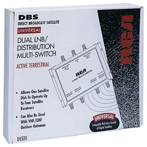RCA D6520 Universal Distribution Multi-Switch (Active) by RCA