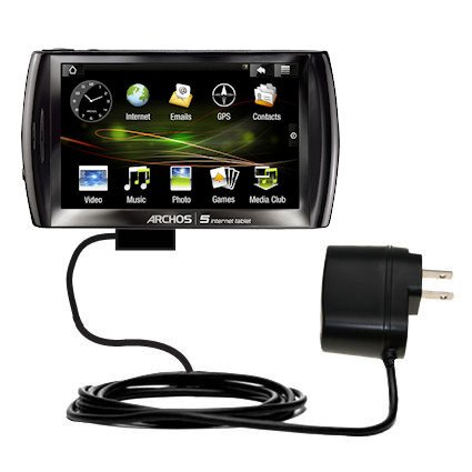Rapid Wall Home AC Charger for the Archos 5 Internet Tablet