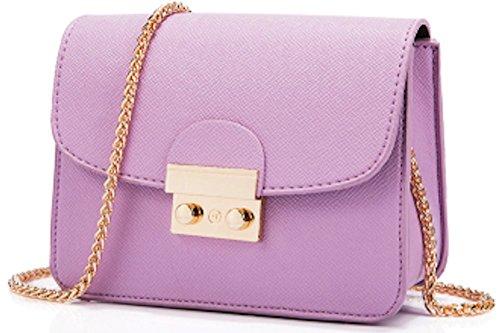 (AIK Small Evening Bags for Women Crossbody Bag Chain Shoulder Evening Clutch Purse Formal Bag (Pink))