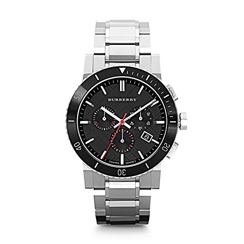 Burberry-Black-Dial-Chronograph-Stainless-Steel-Mens-Watch-BU9380