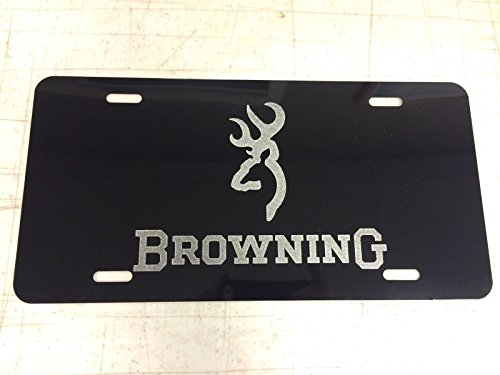 custom license plate browning - 1