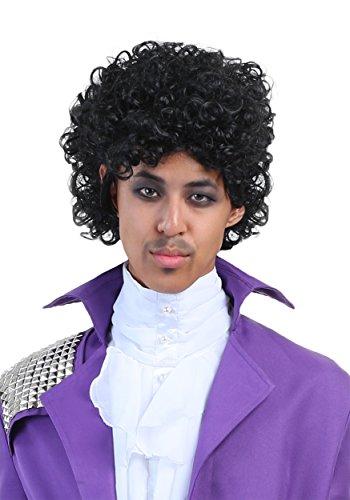 Rock Legend Costumes Wig (Purple Rock Legend Wig Standard)