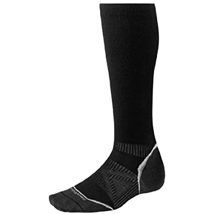 dd4aa45178 SmartWool PhD Run Graduated Compression Ultra Light Socks (Black) X-Large