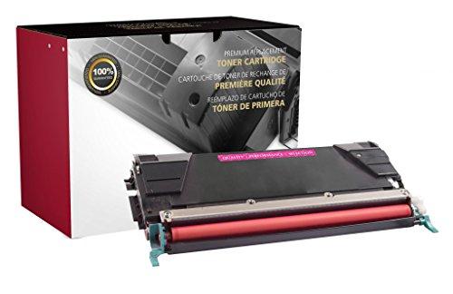 Recreated Cartridges Lexmark C736H2MG | Magenta Color 10,000 Pages for Lexmark C736, C736DN, C736DTN, C736N, X736, X736DE, X738, X738DE, X738DTE (Printer Color C736dn Laser)