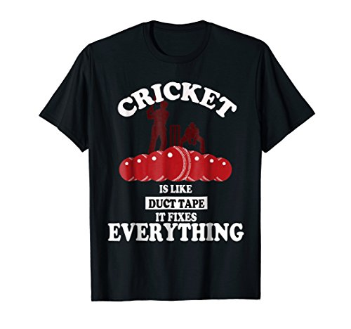 Cricket is like duct tape it fixes everything funny gift
