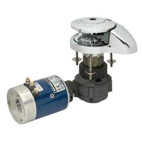 MAXWELL RC Series Windlass, MFG# RC8812V, Vertical drum with below-deck motor, 1320 lb. max capacity, pulls 5/16