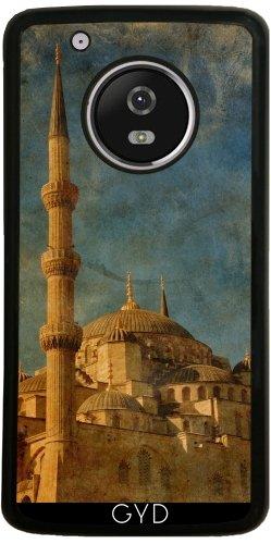Funda de silicona para Moto G5 Plus - Mezquita Azul by svetico