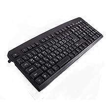 Royche MASS 109 Keys Standard & Stylish Keyboard MK -1007 Classic Slim & Stylish Design Double Key Printing Ergonomic