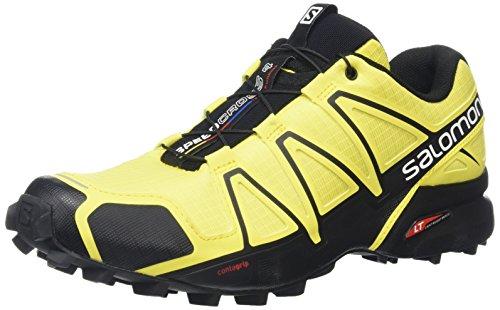 Chaussures Homme Jaune Salomon Randonnée À corona Yellow black Speedcross 6xqIX5