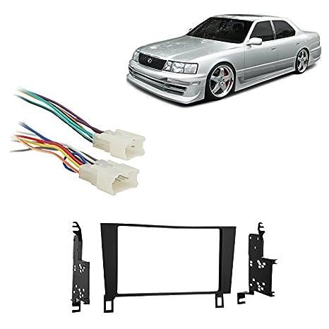 Amazon Fits Lexus Ls400 19901992 Double Din Stereo Harness. Fits Lexus Ls400 19901992 Double Din Stereo Harness Radio Install Dash Kit. Lexus. 91 Lexus Ls400 Wiring Color Code At Scoala.co