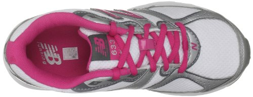New Balance 633, Girls' Running Shoes White/Silver/Pink