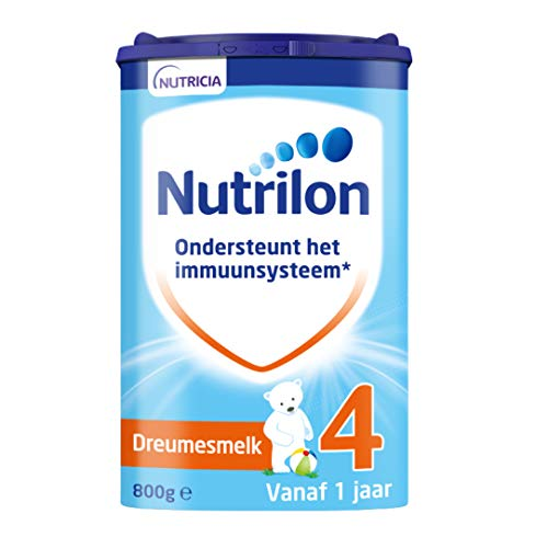 Nutrilon Dreumesmelk 4 – vanaf 12 maanden – 800 gram – Flesvoeding