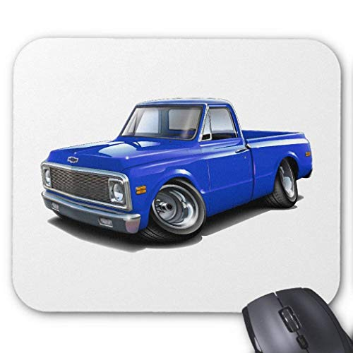 - 1970-72 Chevy C10 Blue Truck Mouse Pad