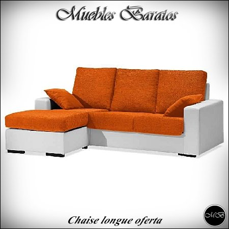 Muebles Baratos Sofas Chaise Longue Salon cheslong Sala de ...