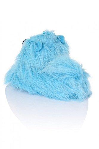 Loungeable Boutique, Mujer Chica Cómodo Novedad Animal Pantuflas Peppy Pekinese