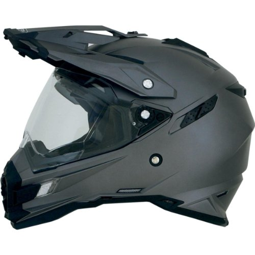 - AFX FX-41DS Solid Helmet , Gender: Mens/Unisex, Helmet Type: Offroad Helmets, Helmet Category: Offroad, Distinct Name: Frost Gray, Primary Color: Gray, Size: Lg 0110-3763