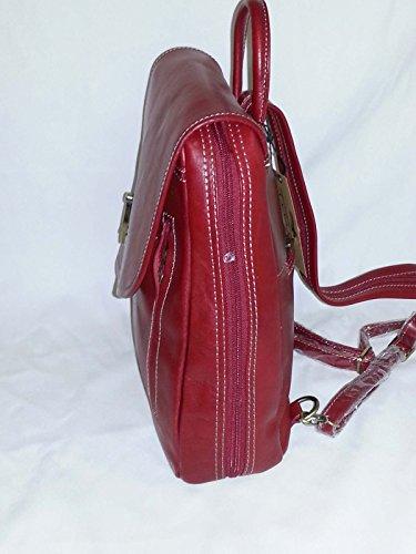 cuir Katana en dos sac réf SURPRISE Rouge à 322017 CADEAU 6BPqaB4