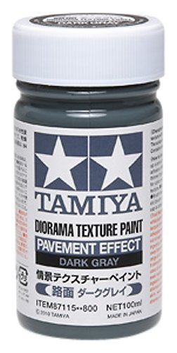 Tamiya Diorama (Diorama Textured Paint - Pavement Effect Dark Gray - Paint - Tamiya)