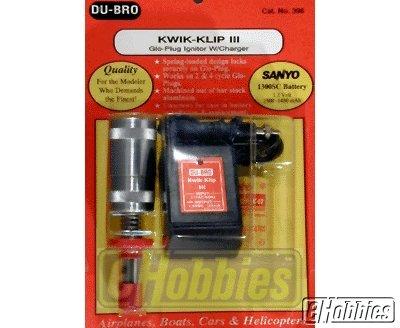 Du-Bro 396 Kwik-Klip III With Charger