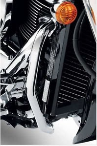 2013-2016 SUZUKI BOULEVARD C90 ENGINE GUARD SET- CHROME 99000-99074-04E