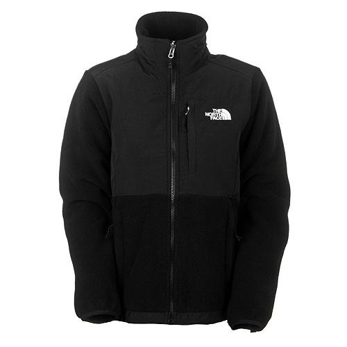 The North Face Denali Womens Fleece Jacket 2012- Recycled TNF Black (Small)