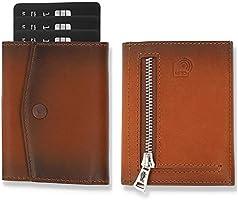 Solo Pelle® Leder I Slim Wallet mit & ohne Münzfach I Geldbeutel mit RFID Schutz I Platz für mindestens 12 Karten I Mini...