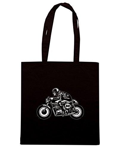 T-Shirtshock - Bolsa de playa de Algodón  Mujer negro
