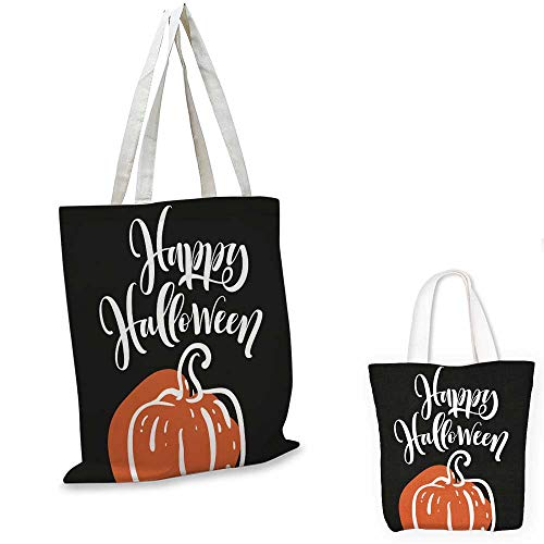 non woven shopping bag Happy Halloween print with