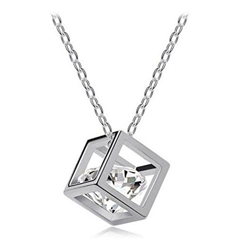 bestpriceam-women-chain-crystal-rhinestone-square-pendant-alloy-necklace-jewelry-silver