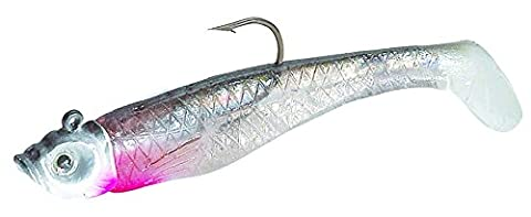 Northland Mimic Minnow Shad-Pack of 6 (1/8-Ounce, Silver) - Northland Mimic Minnow