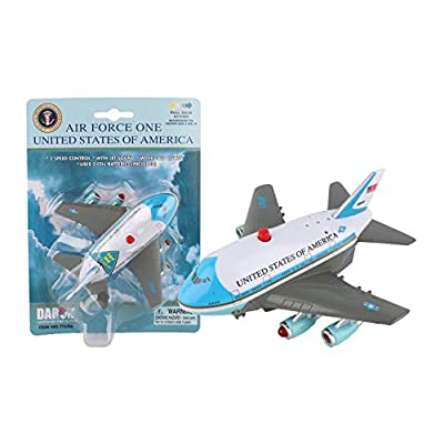 Daron Air Force One Pullback Plane with Light and Sound: Toys & Games