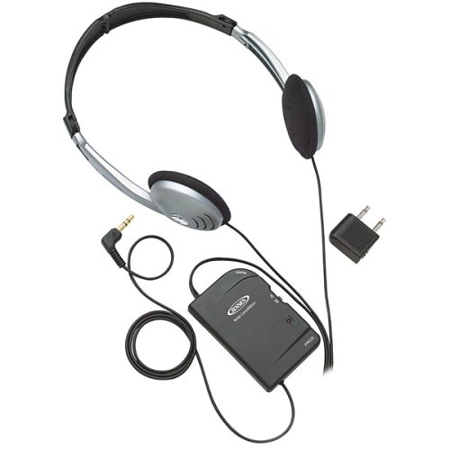Noise Canceling Headphones with Battery-in-cord