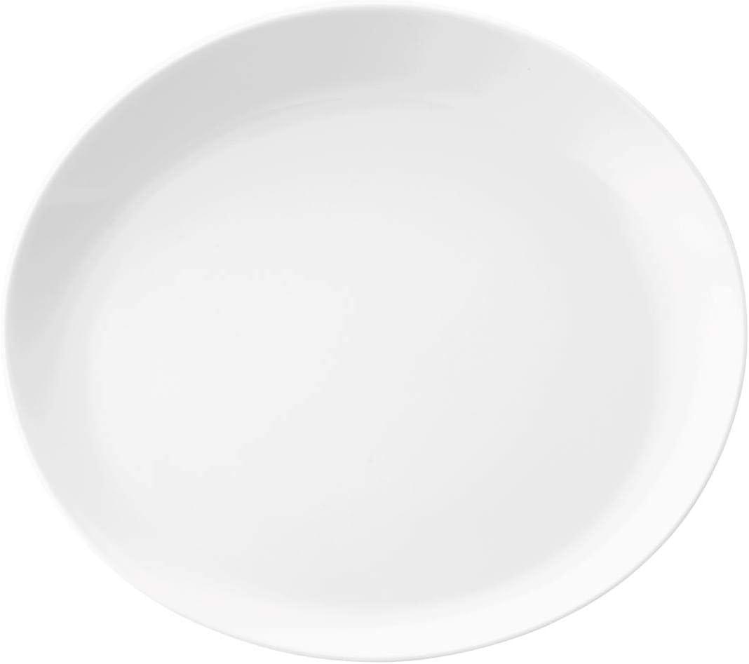 Seltmann Weiden No Limits 001.725235/Gourmet Assiettes Plates Organic 24/cm Blanc